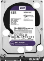 Жесткий диск WESTERN DIGITAL PURPLE 6TB 64MB WD60PURZ